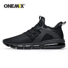ONEMIX – chaussures de course noires pour hommes, baskets de marche, de Sport en plein air, de jogging, pour amoureux, nouvelle collection, taille s
