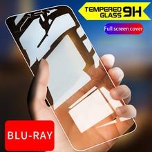 2 Pcs Volledige Gehard Glas Film Screen Gehard Beschermende 9 H 2.5D Anti Blu Ray Voor Huawei Honor 9 10 Honor8 lite 9 lite