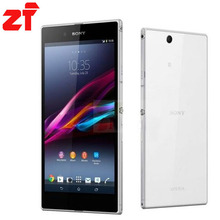 "Original Sony Xperia Z Ultra XL39H Unlocked Mobile Phone Quad-Core c6833 3G&4G Network 6.4"" 8MP Camera Free Shipping"