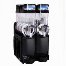 1.5L* 2 двойные резервуары Стиль Таиланд слякоть машина коммерческих машина для приготовления жидкого мороженого для продажи