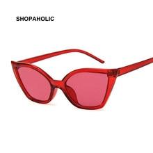 b25e3d8fd21 Fashion Cat Eye Sunglasses Women Brand Designer Sexy Stylish Sun Glasses  for Women Female Coating Shades UV400