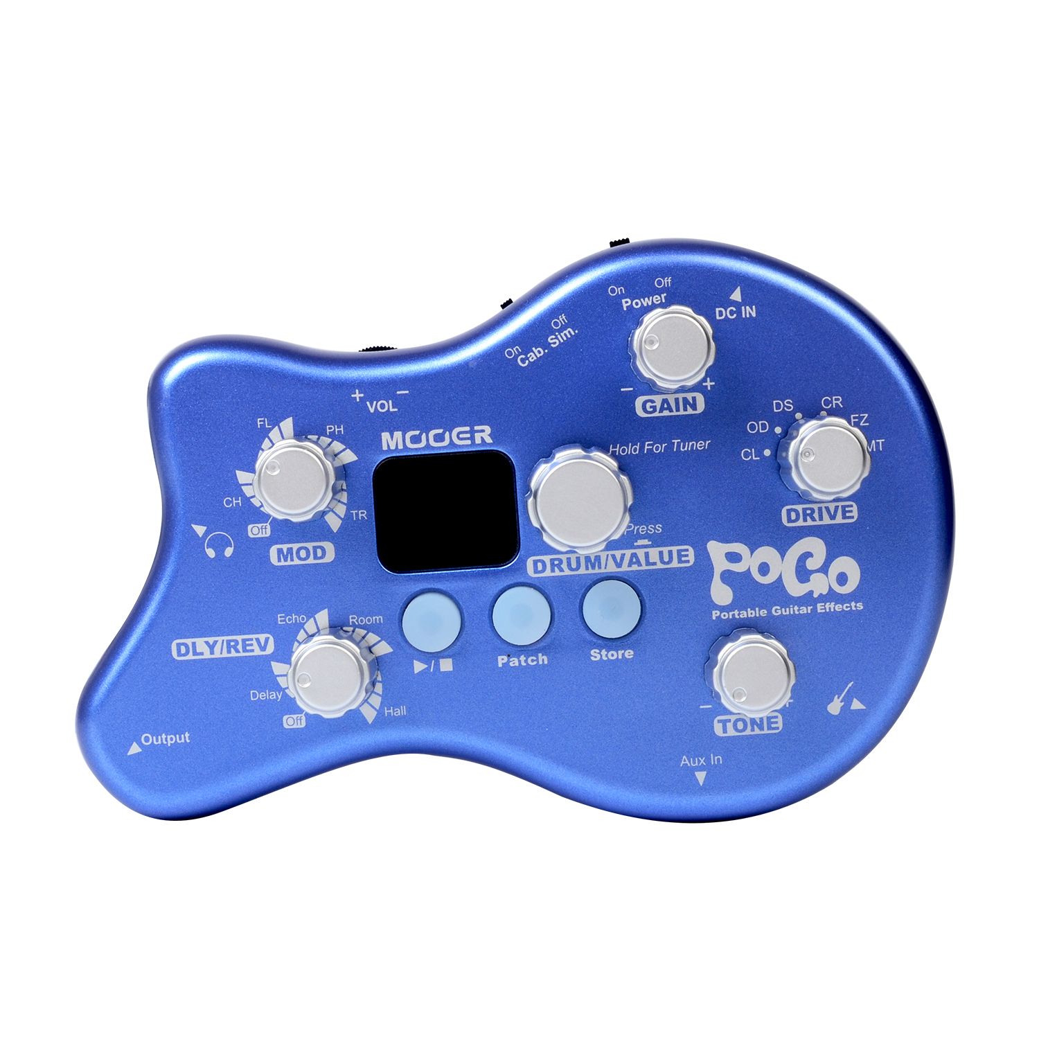 Mooer Pogo Multi Effects Guitar Pedal Tuning Function 5 Effect Modules & 15 Effect Types PE50 mooer vem box 8 effect modules multi guitar processor effects pedal supports loop vocoder including 54 types portable vocal