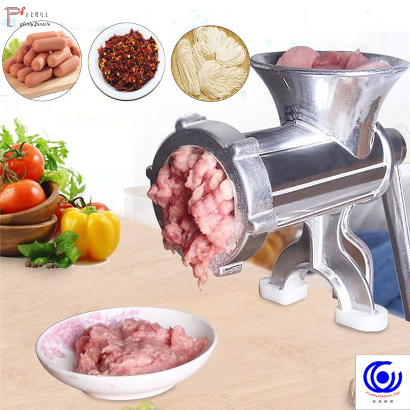 4 in1 Multifunctional Manual Mincer Meat Grinder Pasta Maker Hand Operated Beef Crusher Sausage Syringe Filler Extruder Enema in Meat Grinders from Home Garden