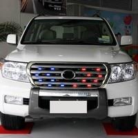 1 Set Flashing LED Strobe Lights 12V Emergency Car Lamps 16W Warning Light For Car Truck Front/Rear Grille