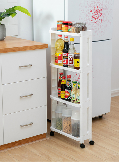 Kitchen Plastic Storage Rack