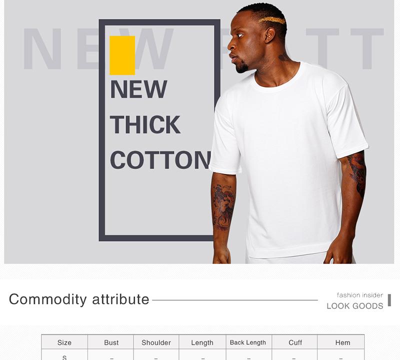 HEYGUYS 2018 estendere hip hop di strada T-Shirt del commercio all ingrosso  di modo di marca t-shirt da uomo estate del manicotto del bicchierino di  disegno ... 05e3e16550d