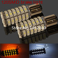 2X1157 Bay15d 3157 led 120smd 3056 3057 3157 3356 3456 3457 1210 Car Brake light Turn signal light Dual color white amber 12V24V
