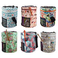 Knitting Yarn Storage Bag Crochet Hooks Large Household Tote For Sewing Accessories Woolen Organizer