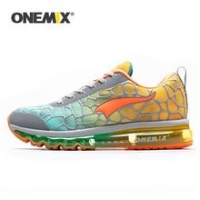 Купить с кэшбэком ONEMIX New Men's Running Shoes big size Outdoor Sport Sneakers Breathable zapatillas hombre Lightweight Walking Shoes size 47
