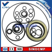 SK120-5 hydraulic pump service seal kit  repair seals for Kobelco excavator rubber oil seal    3 month warranty