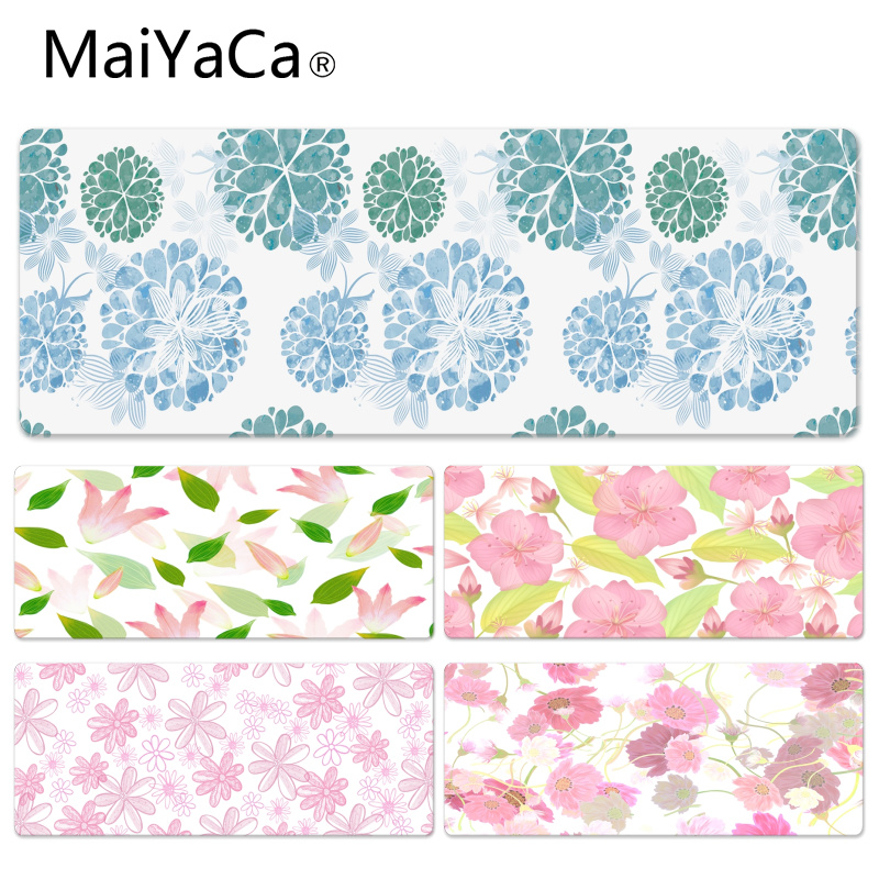 MaiYaCa Personalized Cool Fashion Ink Pattern Durable Rubber Mouse Mat Pad Size for 300*600*2mm and 300*900*2mm Mousepad