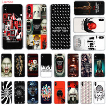 Lavaza tv americano horror história caso de telefone duro para apple iphone 6s 7 8 plus x 5 5S se capa para iphone xs max xr casos de concha(China)