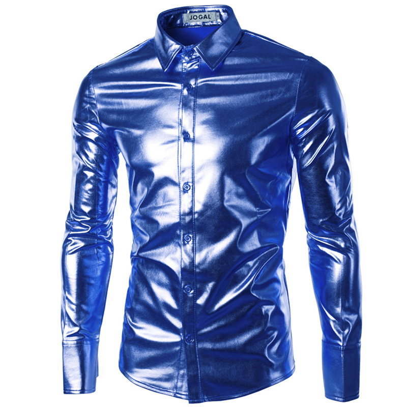 Royal blue shirt men online shopping-the world largest royal blue ...
