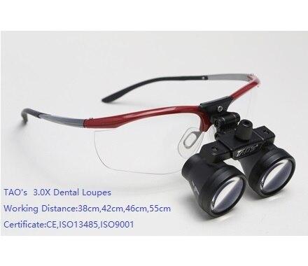 ba840a4166cd TAO S 3.0x Galilean flip up Medical Binocular Dental surgical Loupes  magnifiers binocular Magnifying Glasses