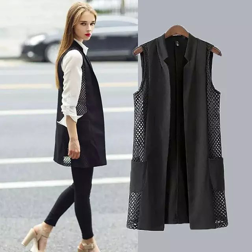 Collection Blazer Vest Womens Pictures - Reikian