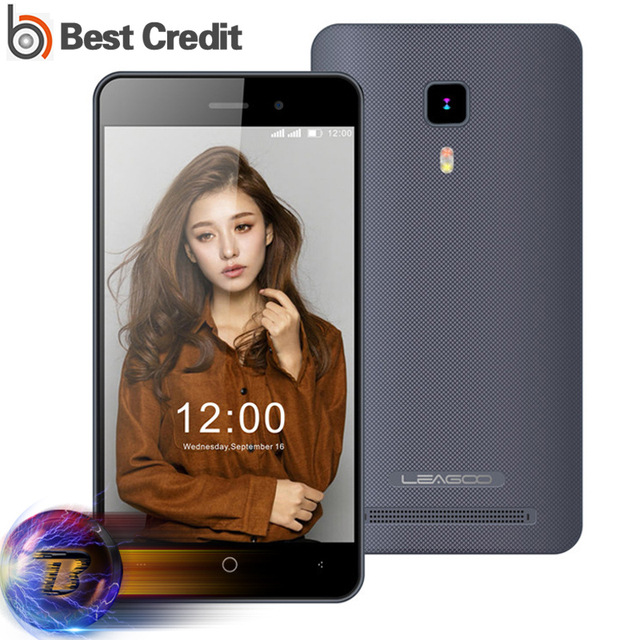 Original Leagoo Z5/Z5C 3G Mobile Phone 5 inch 480x854 IPS MT6580M Quad Core Android 6.0 1.3GHz 1GB RAM 8GB ROM 5.0MP 2000mAh