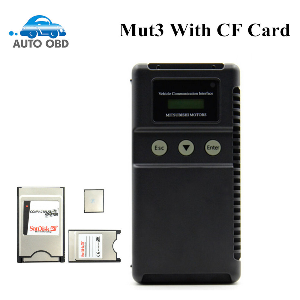 High quality Professional Mitsu bishi mut 3 tester for Car and Truck Diagnostic Tool mitsubishi mut iii with Cf crad Mut-3