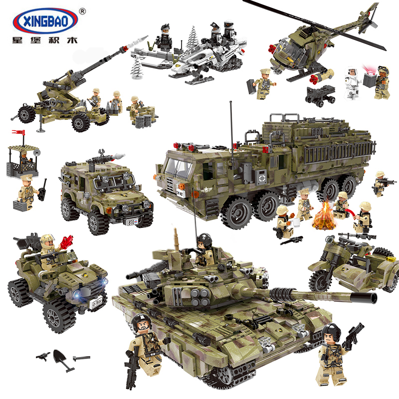 XingBao LegoINGlys Military Series World War 2 Building Blocks Armys MOC Bricks WW2 Gi Joe Figure Toys Gifts For Children single sale super heroes gi joe series matt with junkyard dog firefly snow job power girl building blocks kids gift toys kf6028