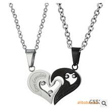 lovers New titanium Necklaces