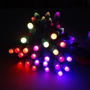 Image 5 - 2000pcs 12mm WS2811 2811 IC Full Color Pixel LED Module Light DC 5V input IP68 waterproof RGB color Digital LED Pixel Light