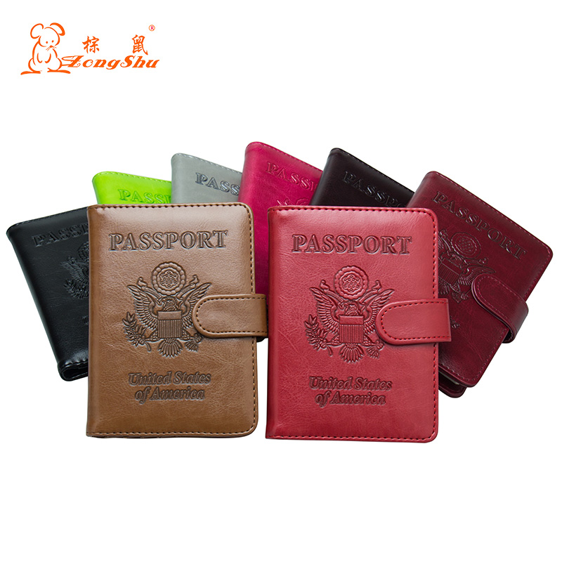 Coin Purses & Holders Back To Search Resultsluggage & Bags Cheap Price Russian Oil Gray Double-headed Eagle Convenient Pu Leather Passport Holder Built In Rfid Blocking Protect Personal Information
