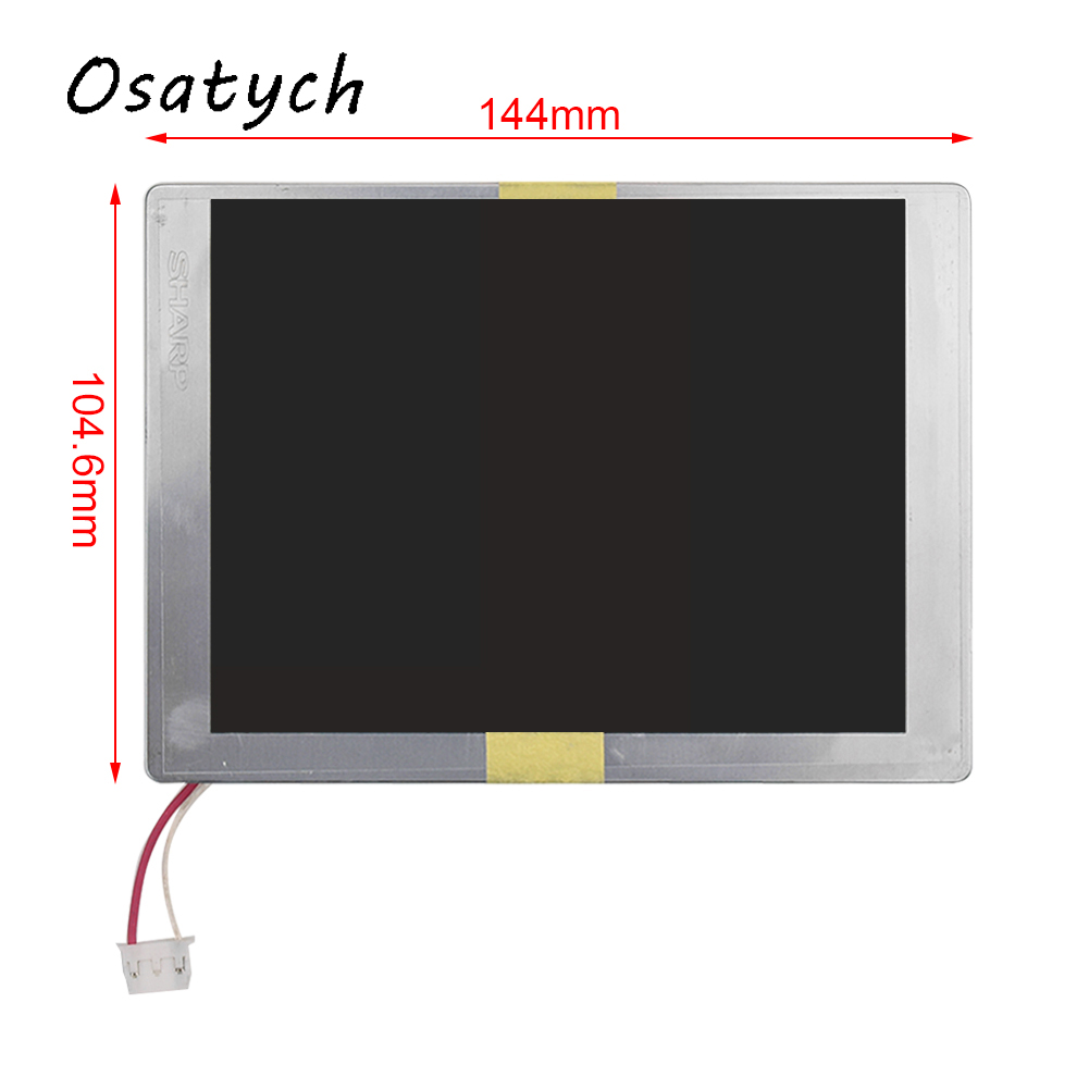 5.7inch For SHARP LQ057Q3DC12 Tablet LCD Screen Display Panel 320(RGB)*240 350 : 1 Replacement Digitizer Monitor for chi mei 7inch lw700at9003 lcd screen display panel 800 480 40 pins digitizer monitor replacement