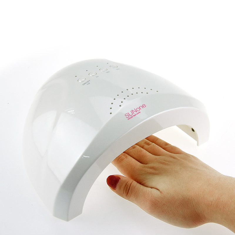 UVLED Sunone Professional White Light 48W UV LED Lamp UV Nail Dryer ...