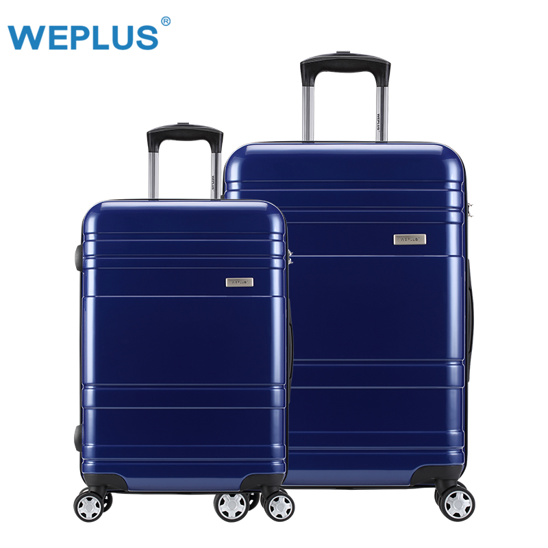 2pcs/set 20inch+24'' luggage waterproof suitcase vintage trolley travel luggages set for men women pc Spinner Rolling Suitcases