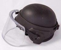 Пуленепробиваемый козырек для M88 шлем с легированной стали Fix кольцо баллистических защитная маска для MICH Шлем личной самообороны оружие