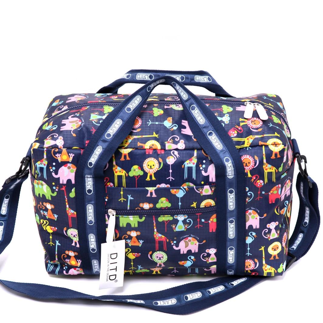 New Arrivals Waterproof Travel Bag Nylon Bags Large Capacity Duffle Casual Luggage Handbag Weekend Bags To Travel 43 Bag Bolsos women travel bags fashion waterproof large capacity luggage duffle bags casual handbag women folding travel bag weekend bags