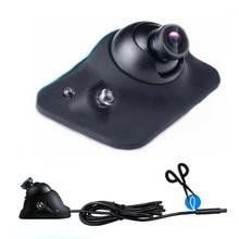 Универсальная HD CCD Автомобильная камера светодиодный ночного видения передняя/левая сторона/правая сторона/камера заднего вида