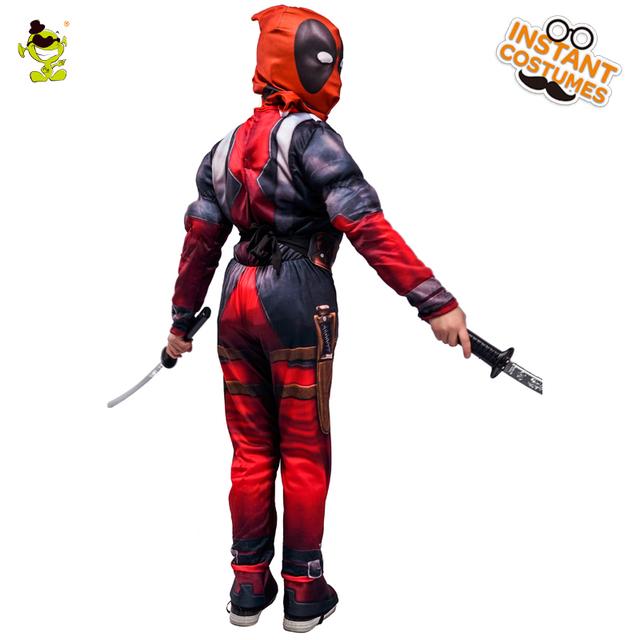 Halloween  Marvel Deadpool Costume