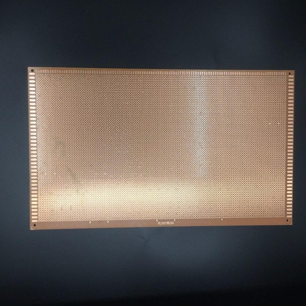 Free Shipping 1pc Pcb Single Side 1830cm Printed Circuit Board Diy Customized Making 5 Bakelite Universal Test Hole Plate