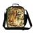 Dispalang 3d animal print aislado bolso más fresco bolsas de almuerzo para los niños cabezas de tigre niños de picnic lunch box bento bolsa de alimentos