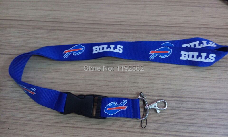 58e222134ab 1pc lot Buffalo Bills NFL Sublimated Key Strap Lanyard keychain Blue-in Key  Chains from Jewelry   Accessories on Aliexpress.com