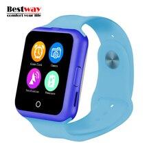 No. 1 D3 Smartwatch Android Uhren MTK6261 Unterstützung SIM/TF Smartwatches Armbanduhr Mp3-player Bluetooth Uhr Telefon PK DZ09 GT08