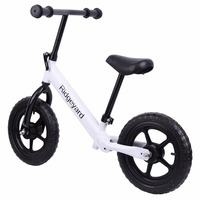 (Shipping From US)12 Balance Bike Classic Kids No Pedal Learn To Ride Pre Bike w/ Adjustable Seat
