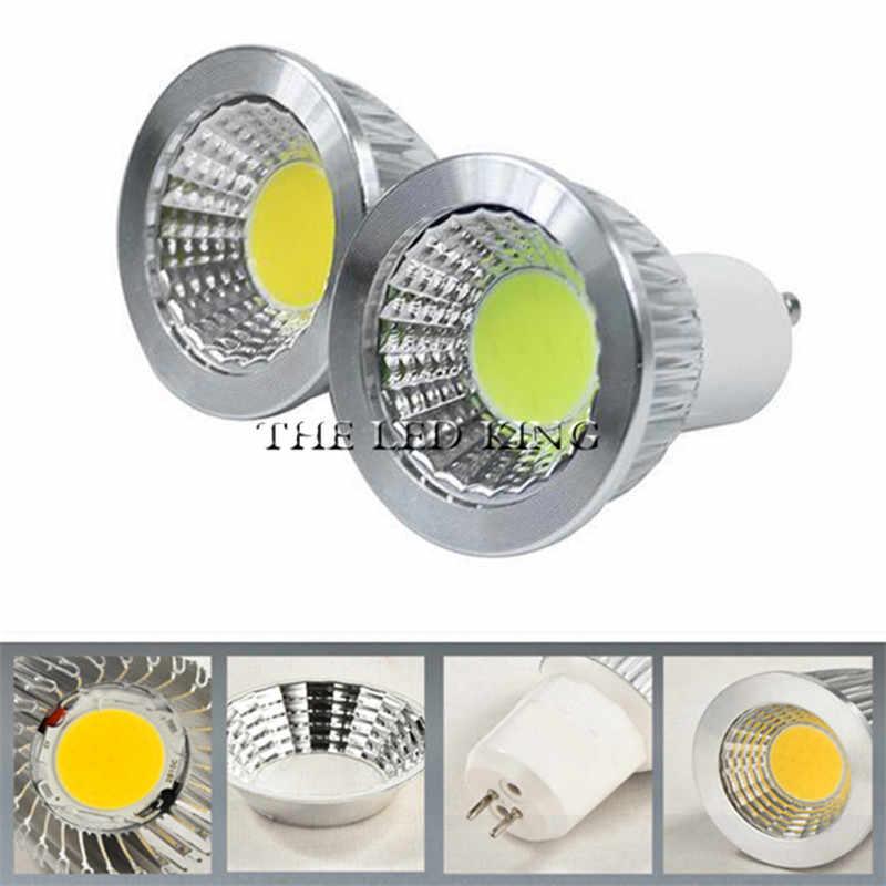 1-10 sztuk Mr16 12v Led z możliwością przyciemniania reflektory Led żarówka 15W 10W 7W Gu10 Led lampka lampa Gu10 żarówka Led AC85-265v Lampada