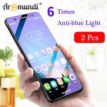 Arsmundi Screen Protector For HUAWEI nova 2i 2 Plus Tempered Glass Anti-Blue / HD Phone Protective Film