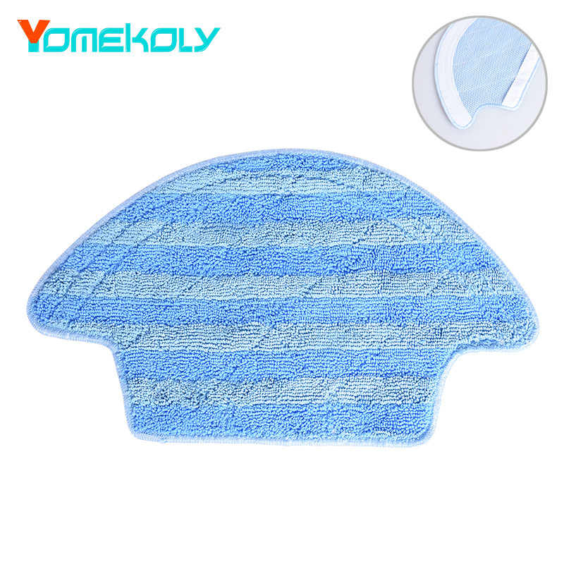 Cleaning Mop Cloth Sweeper Accessories Kit for Ecovacs Vacuum Cleaner CEN540/CEN546/CEN54/CEN540-MI Vacuum Cleaner Parts 5 pieces lot microfiber mop cloth washable for home cleaning for cen540 cen540 mi cen546 robot vacuum cleaner