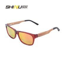 New Polaroid Sunglasses Men   New Pure Handmade Women Fashion Wood sunglasses cat eye bamboo eyewear  ZF112
