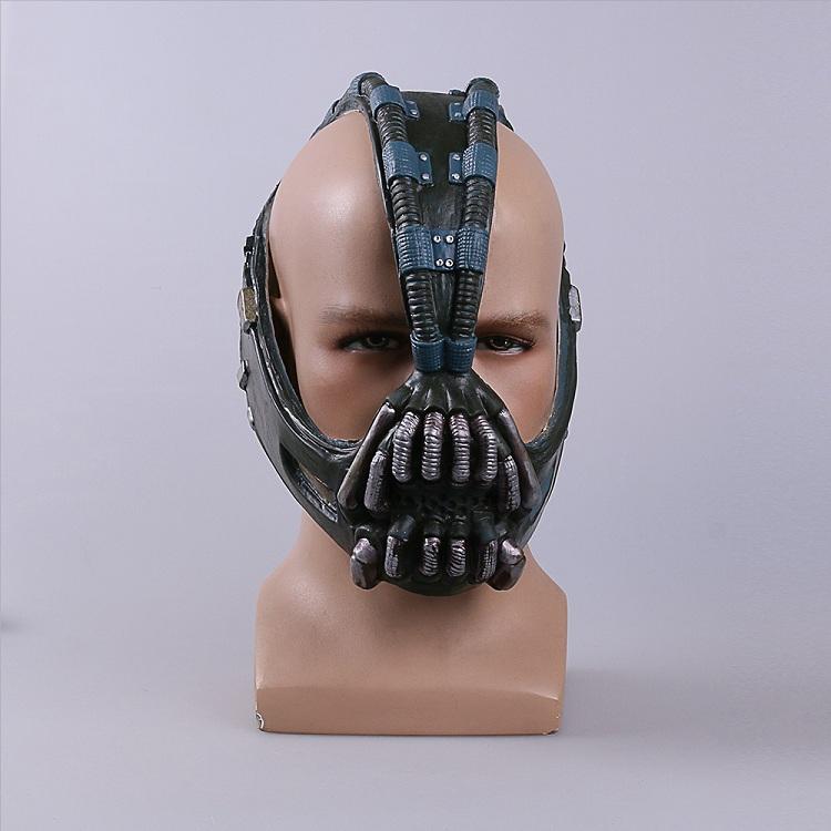 Bane mask Batman Dark Knight Horror Mask Halloween Costume Ball bane Helmet Mask Latex (5)