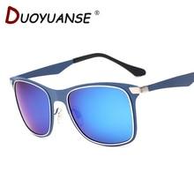 DUOYUANSE new couple polarized sunglasses metal 3521 frog mirror sun glasses wholesale glasses and box