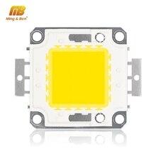 Светодиодный чип 10 Вт, 20 Вт, 30 Вт, 50 Вт, 100 Вт, высокая яркость, 9-12 В, 30-36 в, холодный белый, теплый белый, сделай сам, для прожектора, прожектора, нужен драйвер
