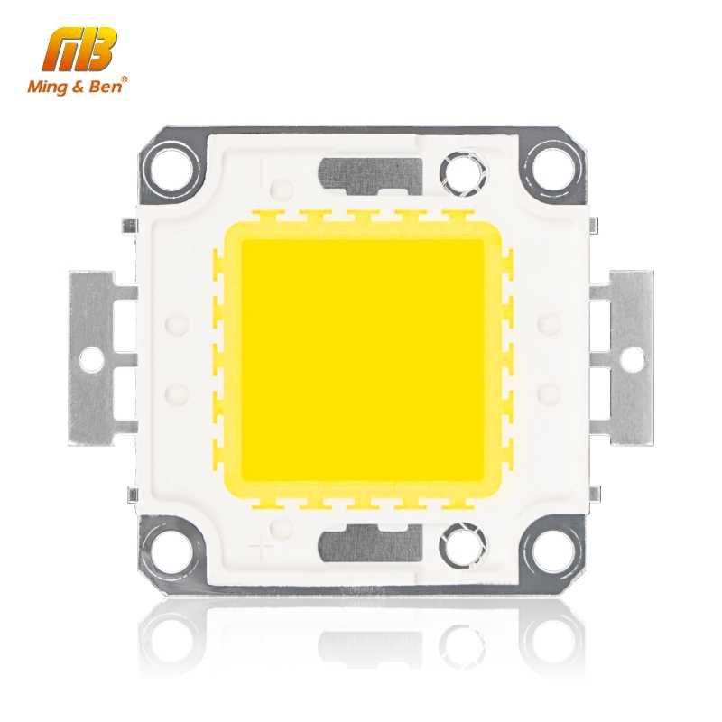LED Beads Chip 10W 20W 30W 50W 100W High Brightness 9-12V 30-36V Cold White Warm White DIY for Floodlight Spotlight With Driver