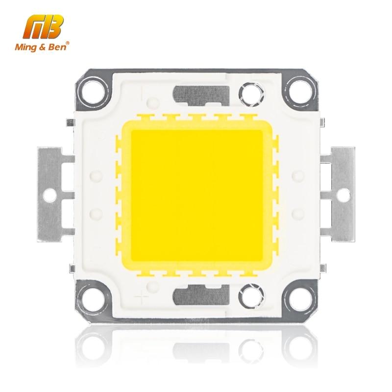 LED Beads Chip 10W 20W 30W 50W 100W High Brightness 9-12V 30-36V Cold White Warm White DIY For Floodlight Spotlight Needs Driver
