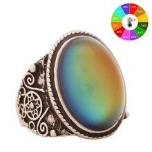 Женское Винтажное кольцо для контроля температуры mojoo в стиле