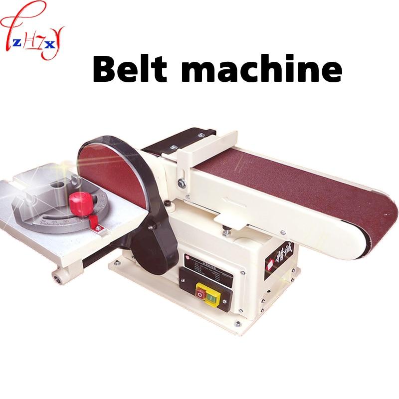 Small desktop vertical electric sand belt machine grinding polisher font b woodworking b font sanding machine