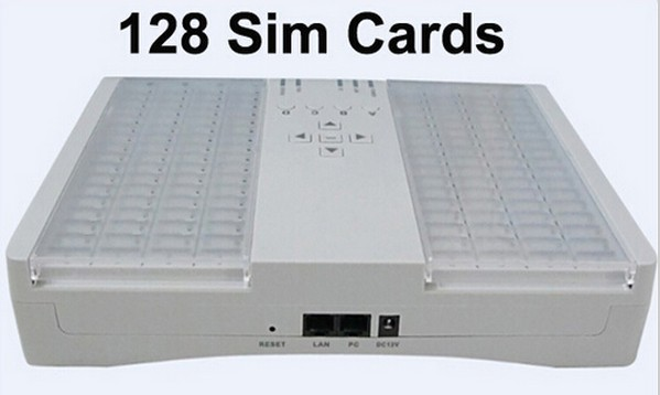 SMB128 Port Sim Bank remote manage GOIP-1,GOIP-4,GOIP-8,GOIP-16,32 GSM voip gateway