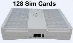 SMB128 Port Sim Bank remote manage GOIP-1,GOIP-4,GOIP-8,GOIP-16,32 GSM voip gateway